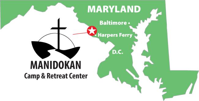 Map to Manidokan
